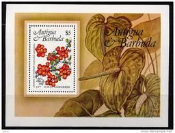 Antigua BF 76 MNH Euphorbia - Antigua And Barbuda (1981-...)