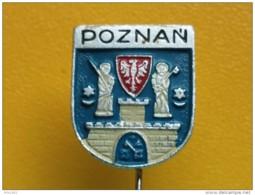 List 103 - POZNAN. POLAND, Blason, Ecusson, Embleme, Coat Of Arms, - Ciudades