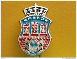 List 103 - KRAKOW. POLAND, Blason, Ecusson, Embleme, Coat Of Arms - Ciudades