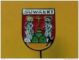 List 103 - SUWALKI, POLAND, Blason, Ecusson, Embleme, Coat Of Arms - Ciudades