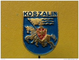 List 103 - KOSZALIN, POLAND, Blason, Ecusson, Embleme, Coat Of Arms, - Ciudades