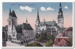 Aachen, Rathaus Mit Verwaltungsgebäude - Aken