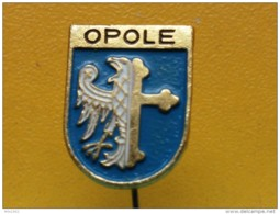 List 103 - OPOLE, POLAND, Blason, Ecusson, Embleme, Coat Of Arms, - Ciudades