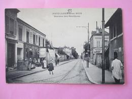 PAVILLONS Sous BOIS -  Avenue Des Pavillons - Animée - - Francia