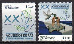Salvador 1833/34 Paix , Colombe , Main - Histoire