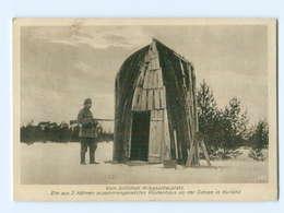 U2510/ Postenhaus An Der Ostsee In Kurland  1. Weltkrieg AK 1917 - Weltkrieg 1914-18