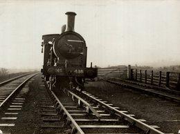 NEW METHODE AUTOMATIC SIGNALLINF RAILWAY CHEMIN DE FER 21* 16 CM Fonds Victor FORBIN 1864-1947 - Trenes