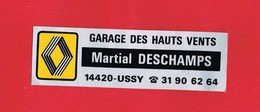 1 Autocollant GARAGE DES HAUTS VENTS à USSY 14 - Autocollants