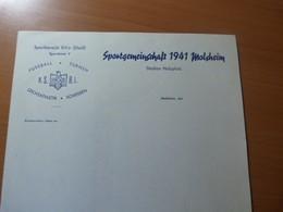 Sportgemeinschaft 1941 Molsheim. Alsace.Football-Gymnastique... - Vieux Papiers