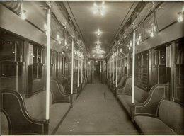 NEW YORK USA NEW TUBE HUDSON RIVER RAILWAY CHEMIN DE FER 21* 16 CM Fonds Victor FORBIN 1864-1947 - Trenes