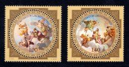 LIECHTENSTEIN - 2010 - NEUFS ** LUXE / MNH -  Série Complète Yvert #1502/1503 2 Valeurs - Neufs