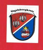 1 Autocollant VOGELSBERGKREIS - Autocollants