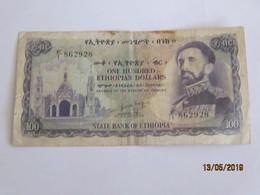 Ethiopie: 100 ET$ Billet De La Série 1961 - Ethiopia