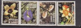 Gibuti - Dijbouti 1981 ** Mi.321/24 FIORI FLOWERS FLORA FIORI Blossoms - Gibuti (1977-...)