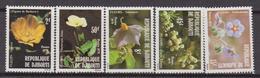 Gibuti - Dijbouti 1981 ** FIORI FLOWERS FLORA FIORI Blossoms - Gibuti (1977-...)