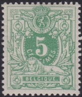 Belgie   .  OBP  .   45    .    *     .    Ongebruikt Met Charnier    .  /   .  Neuf  Avec Charniere - 1869-1888 Lion Couché