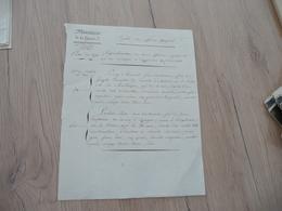 LAS Attribuée Au Maréchal Clarke Duc De Feltre Ministre Guerre Paris 04/04/1813 Dépôt Des Officiers Espagnols  Signaleme - Documents