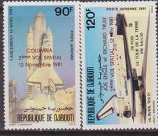 Gibuti - Dijbouti Space Set MNH - Gibuti (1977-...)