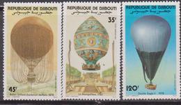 Gibuti - Dijbouti Ballon Mongolfiere Montgolfiere Set MNH - Gibuti (1977-...)