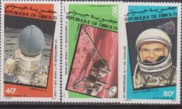 Gibuti - Dijbouti Space Spazio  Set MNH - Gibuti (1977-...)