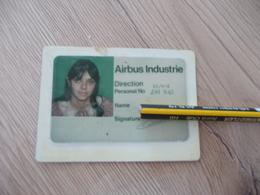 Carte Direction Personnel Air Bus Industrie - Aviation Commerciale