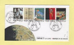 Belgique - FDC - Tintin Et La Lune - 2004 - FDC