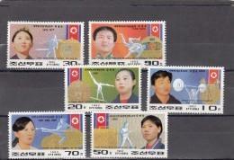 Corea Del Norte Nº 2409 Al 2414 - Corea Del Norte
