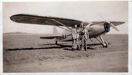 FOTO Flugzeug 1947 Bloemfontein, Format 11 X 6,4 Cm - Fliegerei