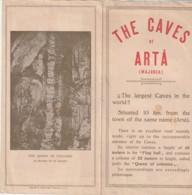 - Dépliant Touristique - Espagne -  ISLAS BALEARES  The Caves Of Arta - - Dépliants Touristiques