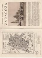 - Dépliant Touristique - Espagne -  Zaragoza - 8 PAGES - - Dépliants Touristiques