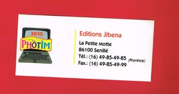 1 Autocollant Editions JIBENA La Petite Motte à SENILLÉ - Autocollants