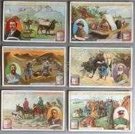 Figurine Liebig Italia S 947 Il Viaggio Di Sven Heidin Al Tibet - 1908 - Liebig