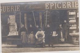 06 - ALPES MARITIMES - Grasse - Carte Photo - Droguerie Epicerie Houlonne - Place Du Marché - Grasse