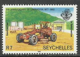 SEYCHELLES 1982 ANNIVERSARY OF LIBERATION TRUCK 7r MNH - Seychelles (1976-...)