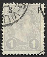 LUXEMBOURG  1895 -  YT  69 -  Grand Duc Adolphe -  Oblitéré - 1895 Adolphe Right-hand Side