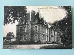 LE COISEL. En Ce Château Mourut, En 1833, Le Poète Chênedollé Né à Vire En 1769 - France