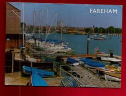 CP Angleterre Fareham The Quay And Creek... - Bateau Voilier - Autres