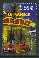 France - La Fête Foraine / Le Manège YT 4381 Obl. Ondulations - France