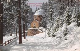 Cartolina St Moritz Museum Segantini Illustrata - Cartoline