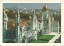 Lisboa, Lisbona (Portugal) Vista Global Do Convento Dos Jeronymos (Mosteiro Dos Jeronimos) - Lisboa