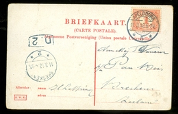 BRIEFKAART Uit 1912 Van APELDOORN Naar BRESKENS * NVPH Nr 51   (11.553j) - Periode 1891-1948 (Wilhelmina)