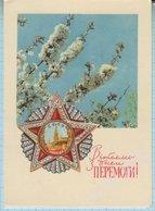 USSR / Post Card / Soviet Union / UKRAINE Victory Day. May 9. Order. Artist Mikhailov 1970. - Holidays & Celebrations