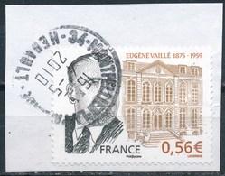 France - Eugène Vaillé YT 4391 Obl. Cachet Rond Sur Fragment - France