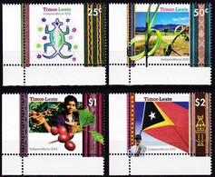 2002, Timor, 371/74, Unabhängigkeit (I), Independence. MNH ** - Timor