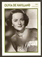 PORTRAIT DE STAR 1940 ETATS UNIS USA - ACTRICE OLIVIA DE HAVILLAND - ACTRESS CINEMA - Photographs