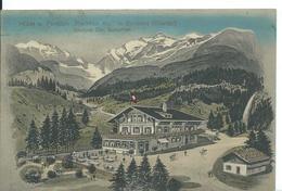 ***   KIENTAL    (  SUISSE  )    HOTEL PENSION POCHTEN ALP IN GORNERN........ - BE Berne
