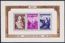 Belgie   .  OBP  .     Blok  28  (2 Scans)   .    *     .    Ongebruikt Met Charnier    .  /   .  Neuf  Avec Charniere - Blocks & Sheetlets 1924-1960