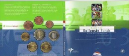 Holanda 2003. Cartera Oficial Euro. Nationaal Epilepsie Fonds. - Paises Bajos