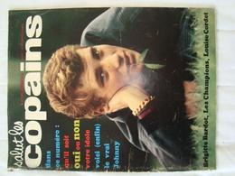 Magazine SALUT LES COPAINS N° 7 De Février 1963 (avec Poster De Johnny Hallyday) Brigitte Bardot, Les Champions. - Musique