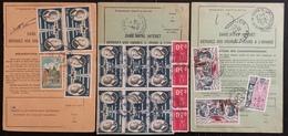 France - Ordre De Réexpédition Définitif - PA Poste Aérienne - Lot De 3 Ordres - Nº 755 B - 1975 - 1961-....